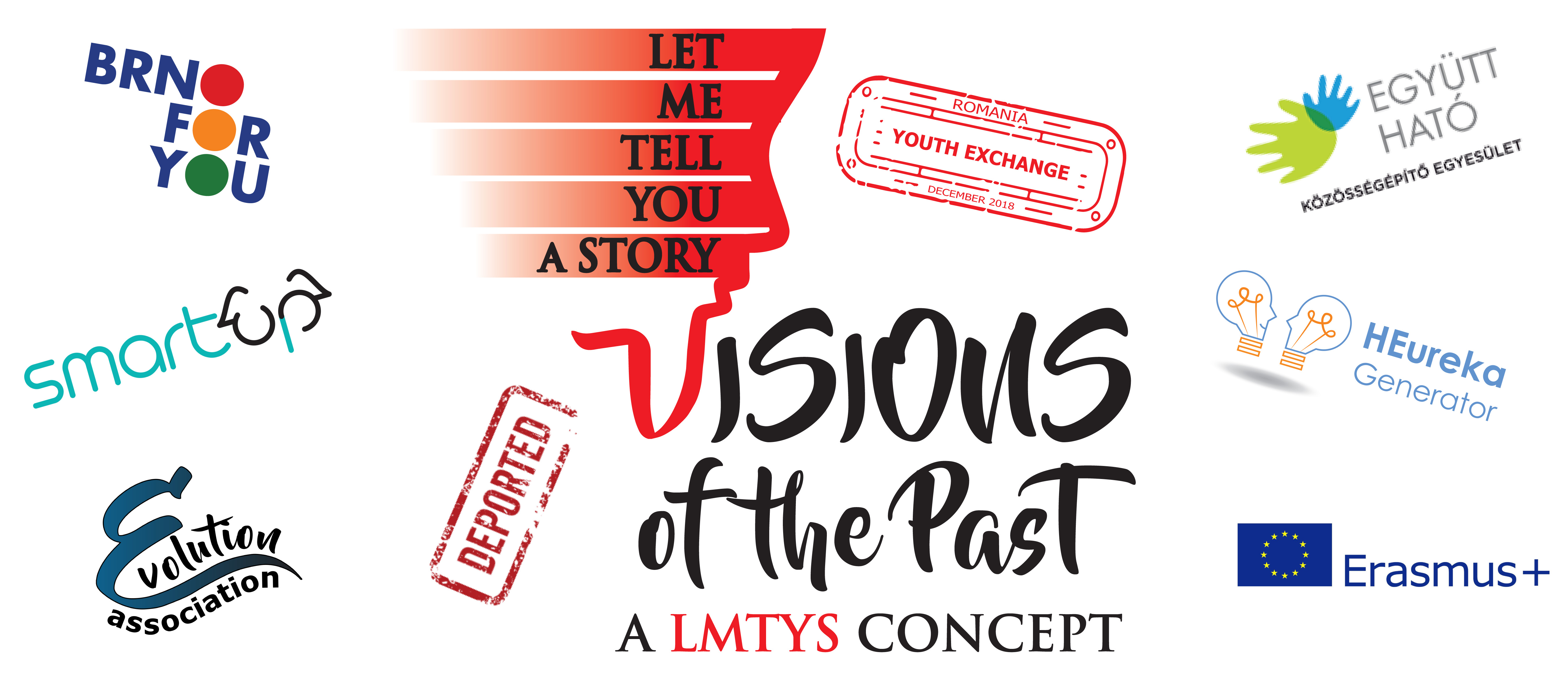 Jsme partnery projektu Let me tell you a story – Vision of the Past (text in English)